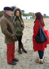 Ivor, Dawne and Sophie
