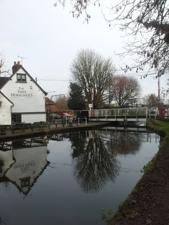 Grand Union Canal lock